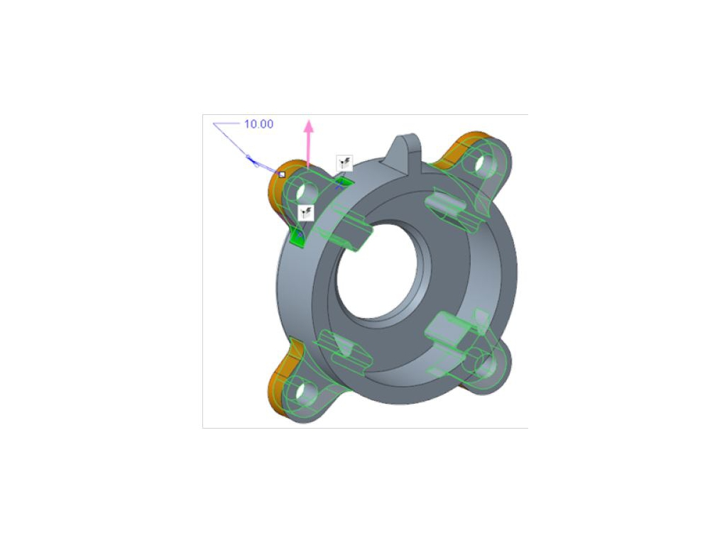 PTC Creo Flexible Modeling Extension
